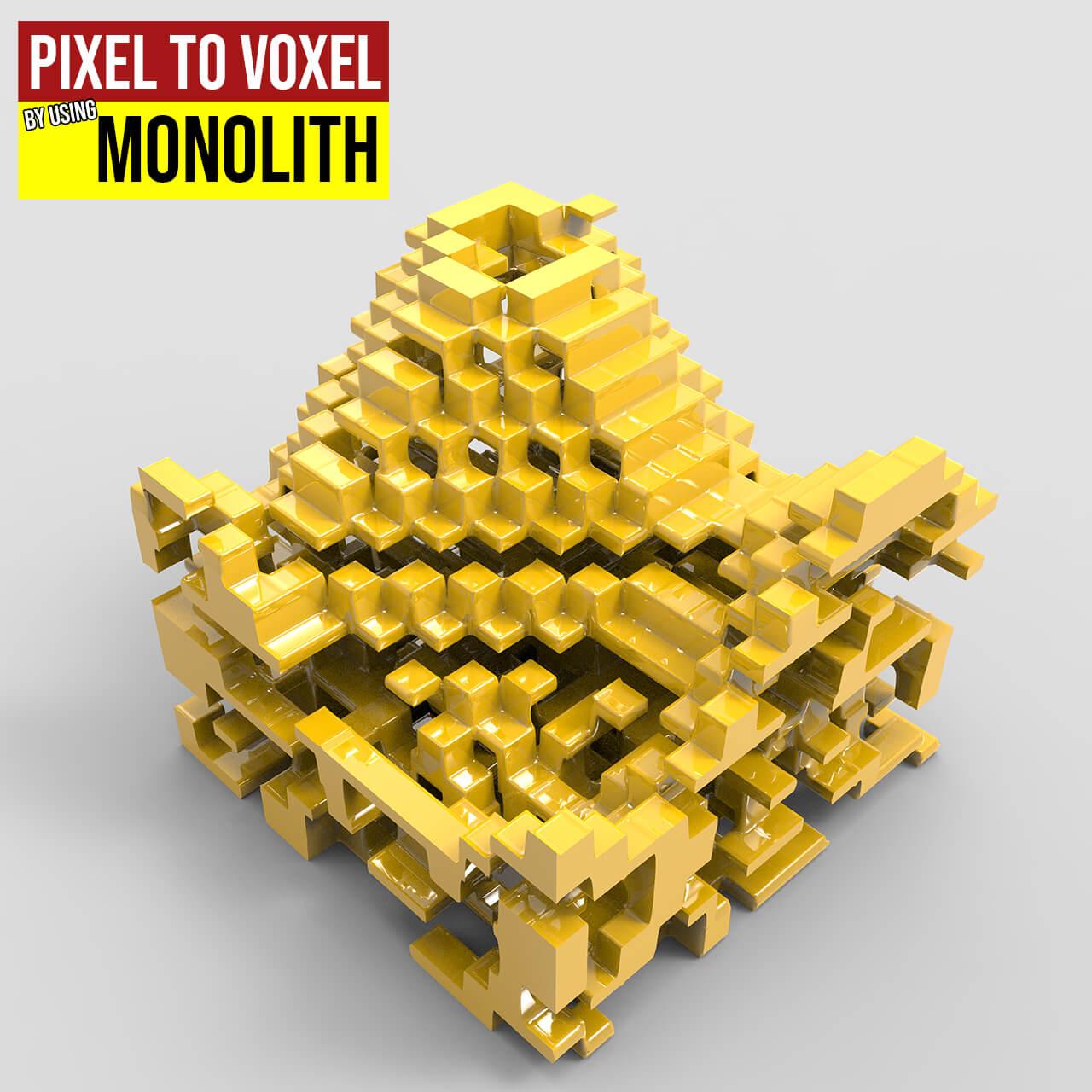 pixel to voxel 1200
