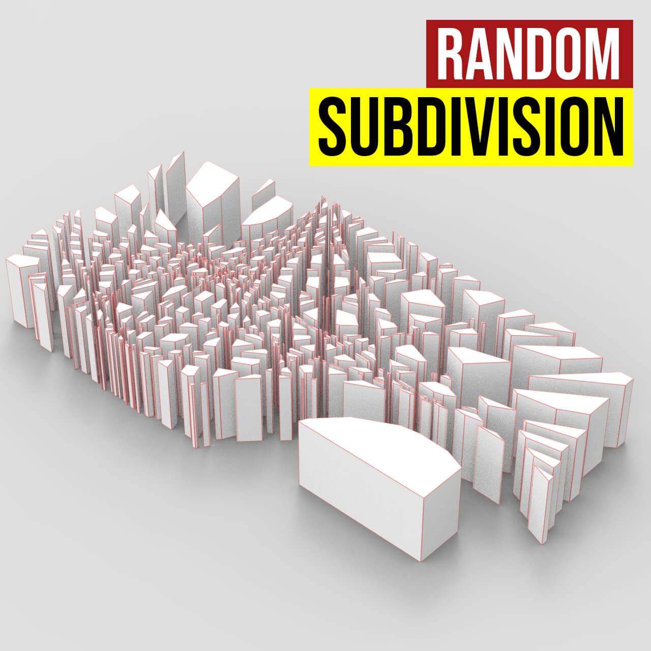 Random subdivision1200