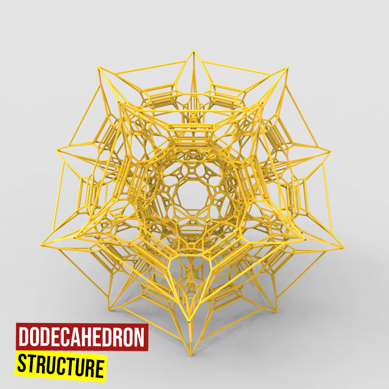 Dodecahedron structure1200