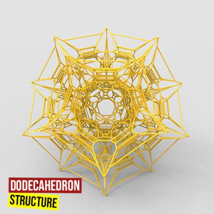 Dodecahedron structure500