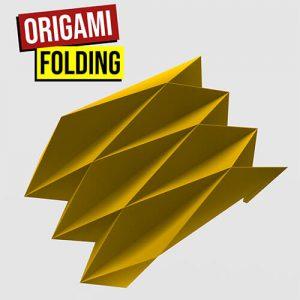 origami folding500