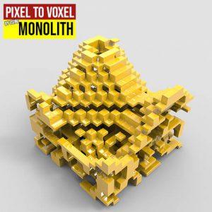 pixel to voxel 500