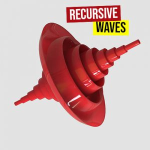 Recurisve waves 500