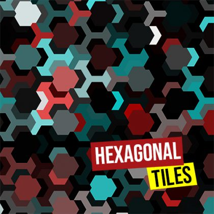 Hexagonal tiles500