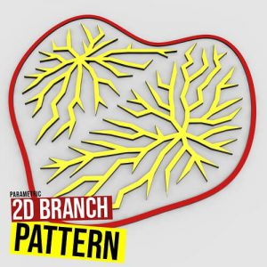 2D Venation Pattern Grasshopper3d Definition
