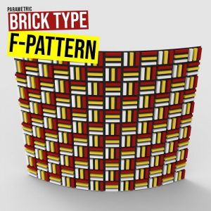 Brick Type F Grasshopper3d Definition Parakeet weaverbird plugin