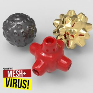 Mesh+ Virus Grasshopper3d Definition weaverbird plugin