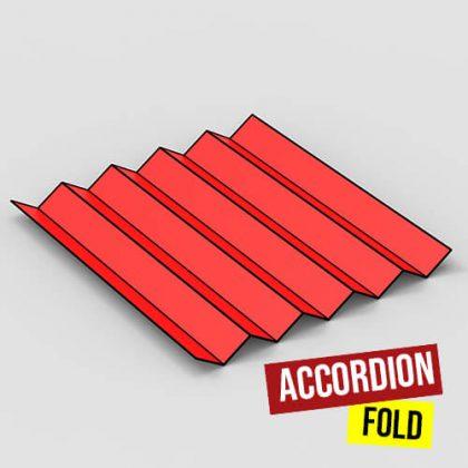 accordion fold 500