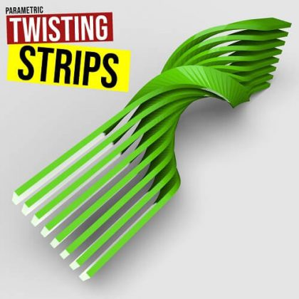 Twisting Strips Grasshopper3d Tutorial
