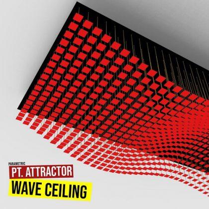 Ceiling Wave Attractor Grasshopper3d Definition 3D Pattern