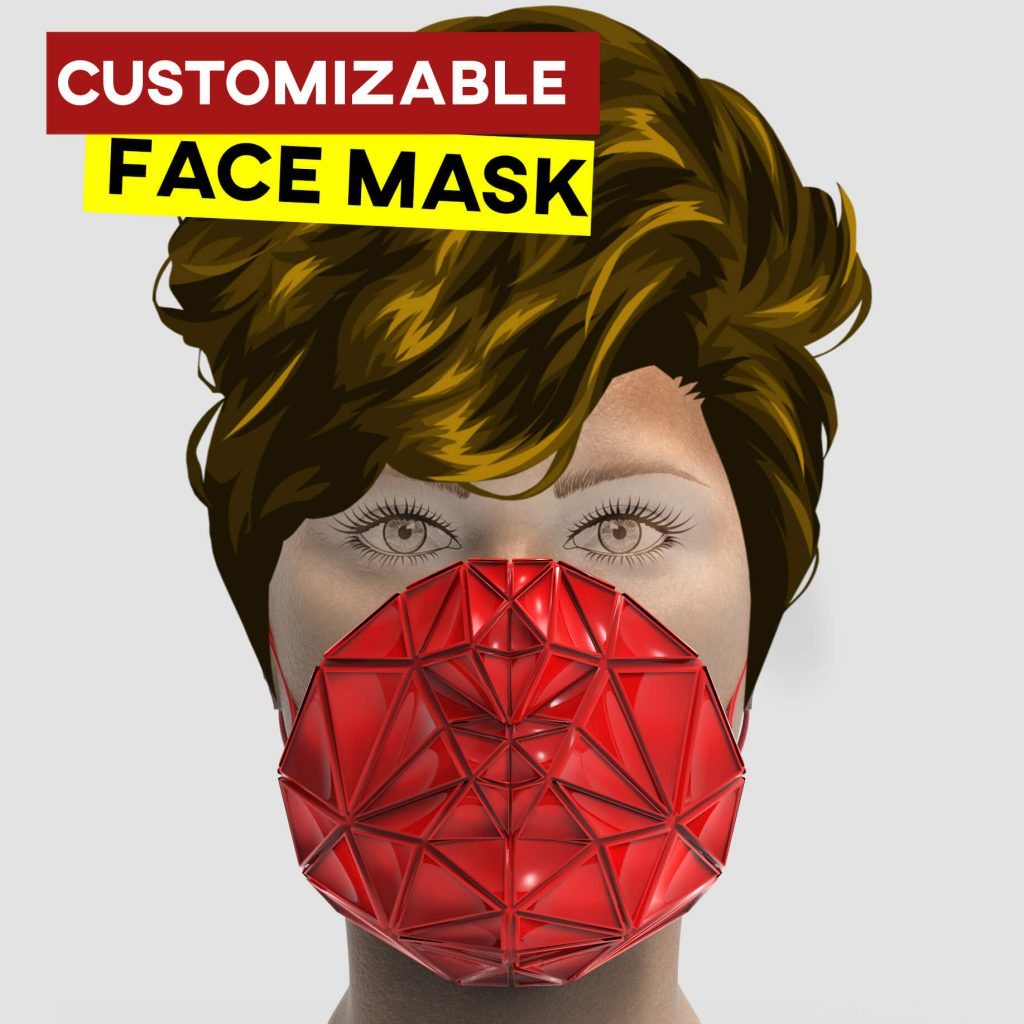 customizable facemask