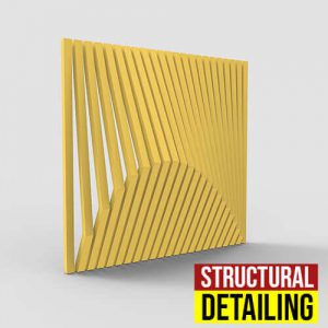 Structural Detailing Grasshopper3d Definition