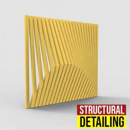 Structural Detailing Grasshopper3d Definition