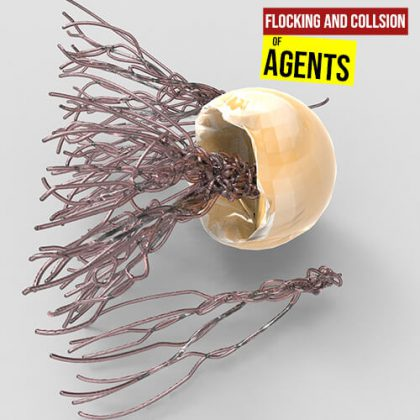 Flocking and Collision of Agents1280