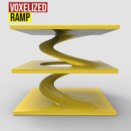 Voxelized Ramp Grasshopper3d Definition AXOLOTL Plugin
