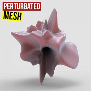 Perturbated Mesh Grasshopper3d Definition Fracturehopper weaverbird plugin