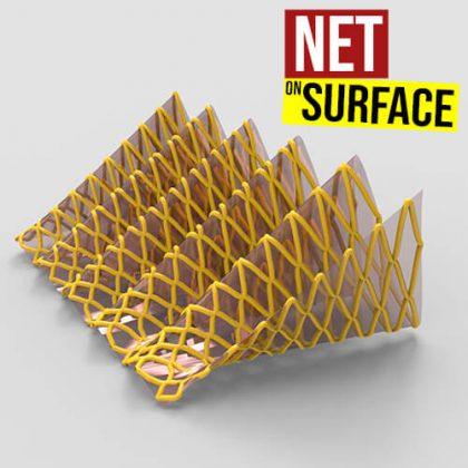 Net on Surface Grasshopper3d Definition Pufferfish Plugin