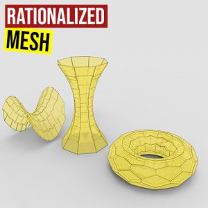 Rationalized Mesh Grasshopper3d Definition NGon Plugin