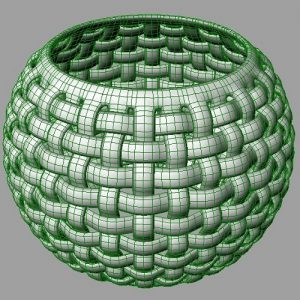 Basket Weaving Grasshopper3d Example