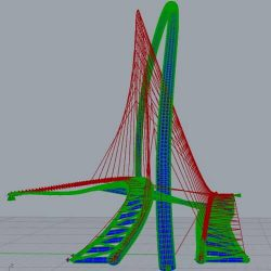 structural design of footbridges using parametric modelling