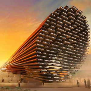 Poem UK Pavilion for expo 2020