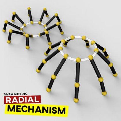 Radial Mechanism Grasshopper3d Tutorial