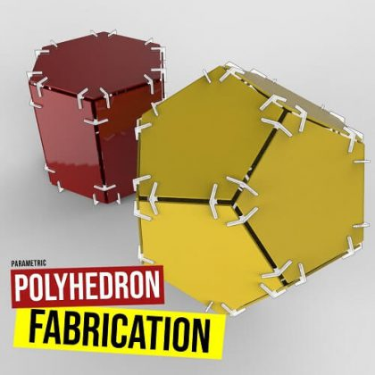 Polyhedron Fabrication Grasshopper3d Tutorial Rhinopolyhedra Plugin