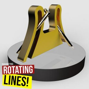 Rotating Lines Grasshopper3d Definition
