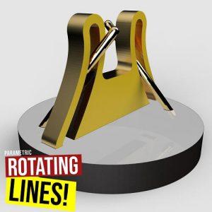 Rotating Lines Grasshopper3d Definition