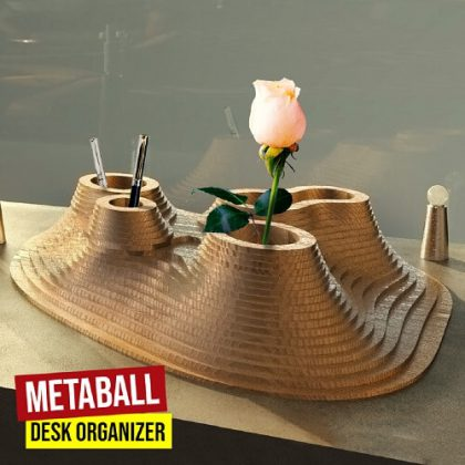 Metaball Desk Organizer Python Grasshopper3d Definition