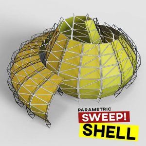 Sweep Shell Grasshopper3d Tutorial Lunchbox Plugin