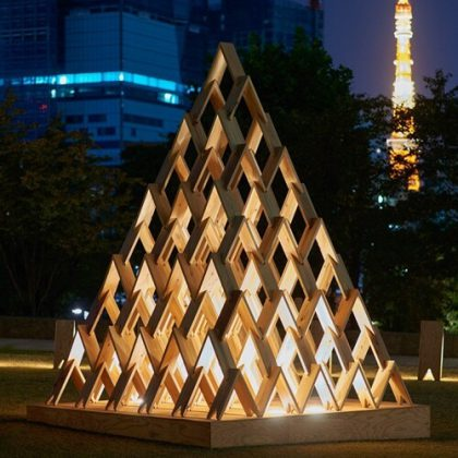 Tsumiki Modular Pavilion