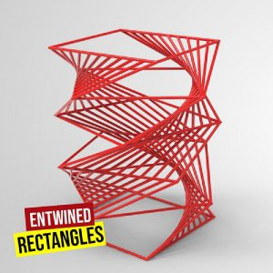 Recursive Entwined Rectangle Grasshopper3d Definition Anemone Plugin