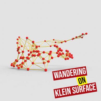 Wandering on Klein Surface Grasshopper3d Definition Noise 4D Plugin