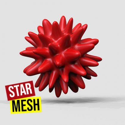 Star Mesh Grasshopper3d Definition Mesh+ Weaverbird Plugin