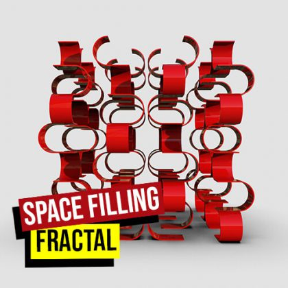 Space Filling Fractal Grasshopper3d Definition