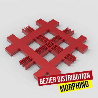 Bezier Distribution Morphing Grasshopper3d Definition Anemone Plugin