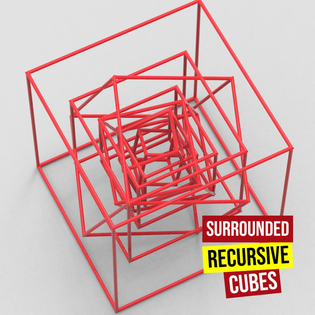 sourounded recursive cubes 1280
