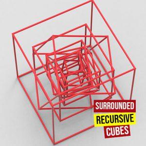 sourounded recursive cubes500