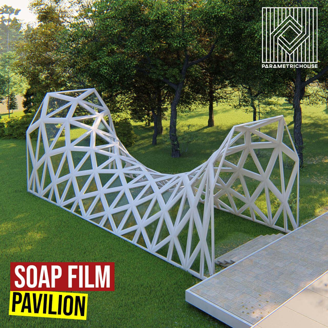 Soap Film Pavilion Grasshopper3d Tutorial