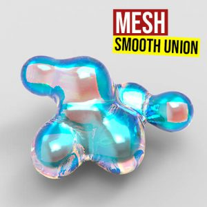Mesh Smooth Union Grasshopper3d Definition Jellyfish Plugin
