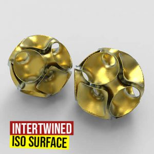 Intertwined Iso Surface Grasshopper3d Definition