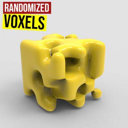 Randomized Voxels NGon Weaverbird Plugin