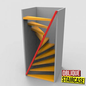 Oblique Staircase Grasshopper3d Definition