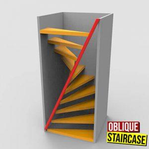 Oblique Staircase Grasshopper3d Definition