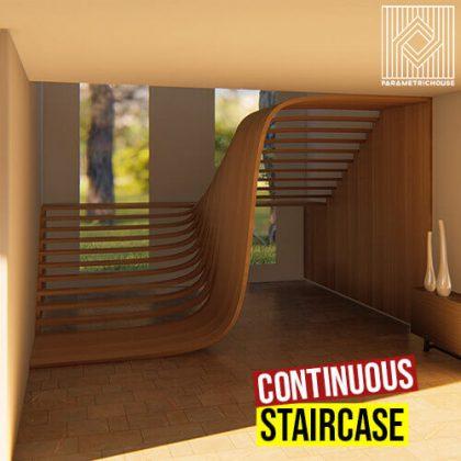 Continuous Staircase Grasshopper3d Definition