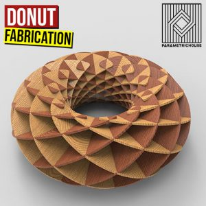 Donut Fabrication Grasshopper3d Definition