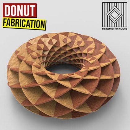 Donut Fabrication Grasshopper3d Definition