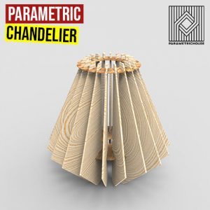 Parametric Chandelier Grasshopper3d Definition Digital Fabrication