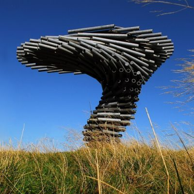 Singing Ringing Tree Parametric Sculpture
